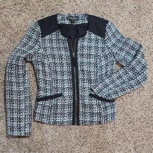 NWOT Lucky Brand Tweed Cropped Jacket